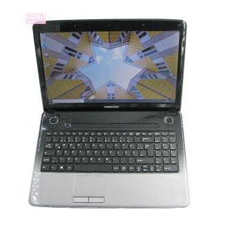 "Надійний ноутбук Medion E6234, 15.6"", Pentium B960, 4 GB, 320 GB, Intel HD Graphics 2000, Windows 10, Б/В"